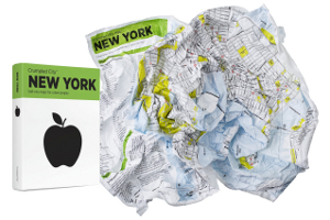 Crumpled City New York